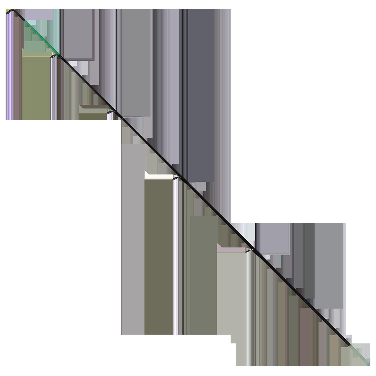 Квивертип GC Bionic Feeder Black Edition 390MH 2.85мм 3oz Glass
